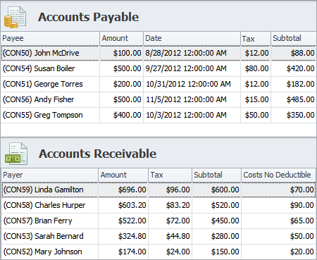 Business Accounting and ERP - Accounts Payable and Accounts Receivable