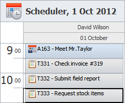 Keep Track of Employee Tasks and Appointments