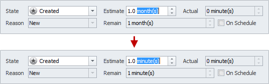 task estimation duration units